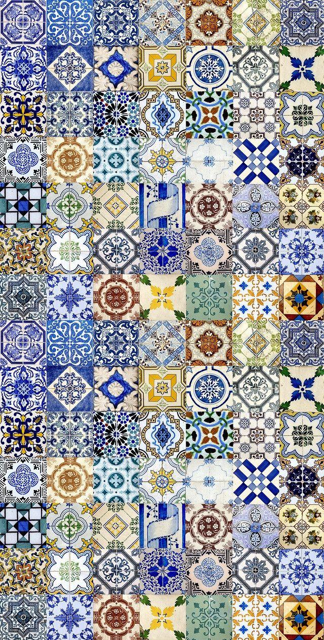 Rajoles porto portugal azulejos tiles azulejos for Azulejos estilo mexicano
