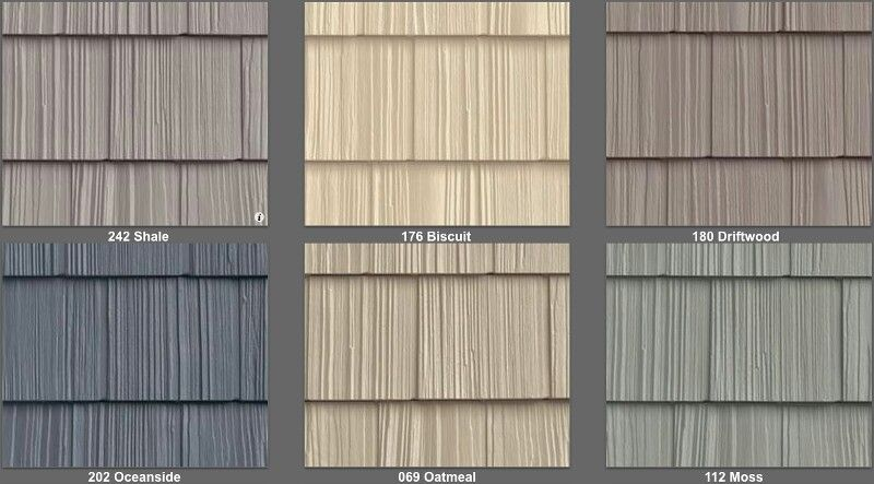 vinyl siding that looks like cedar