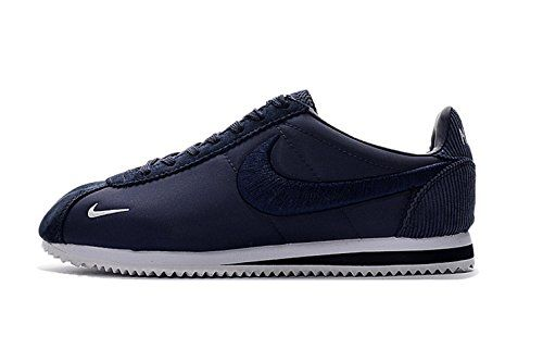Nike Mens Cortez Basic Nylon Casual Shoe Navy Blue * You can find more details by visiting the image link.