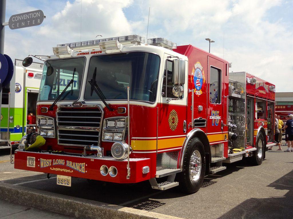 West Long Branch Engine 75 Fire trucks, Fire engine