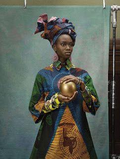 Trajes Angolanos Tradicionais