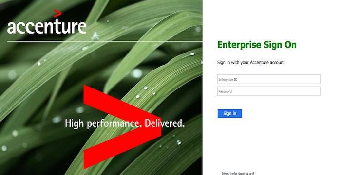 Accenture Employee Login | Websites | Login page, Accounting