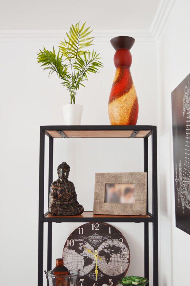 Proyecto decoración de living estilo industrial Desde el blog del