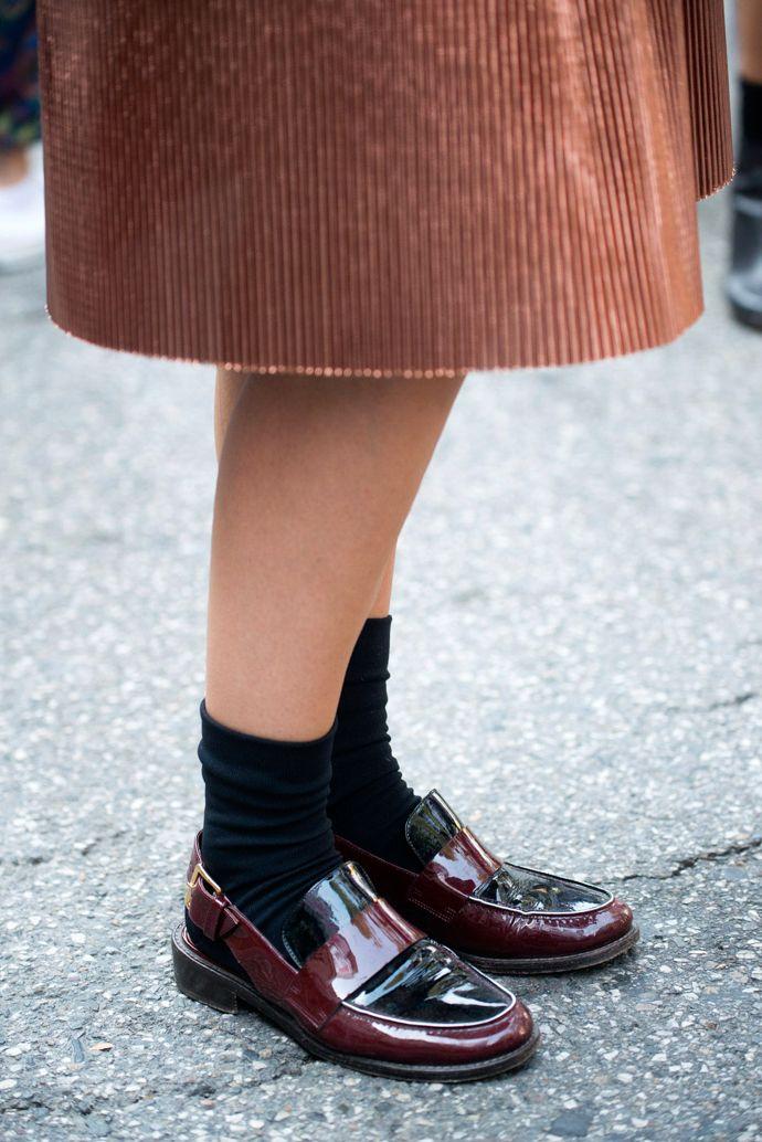 Copper Coat - Milan Fashion Week: street style