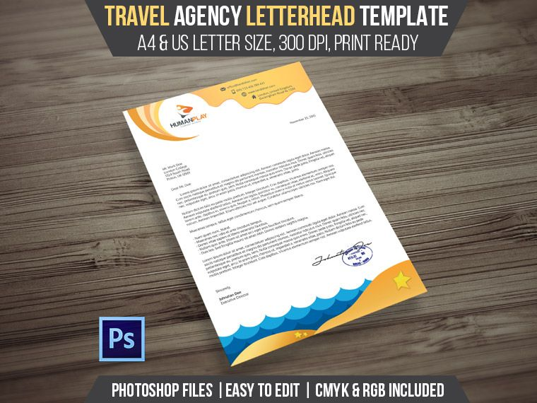 7+1 Corporate Letterhead Templates Pack Letterhead template - letterheads templates free download