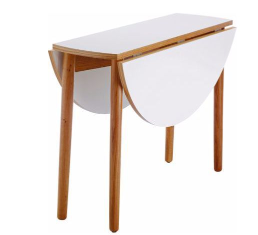 Used Habitat Rio White Glass Extending Dining Table Extendable