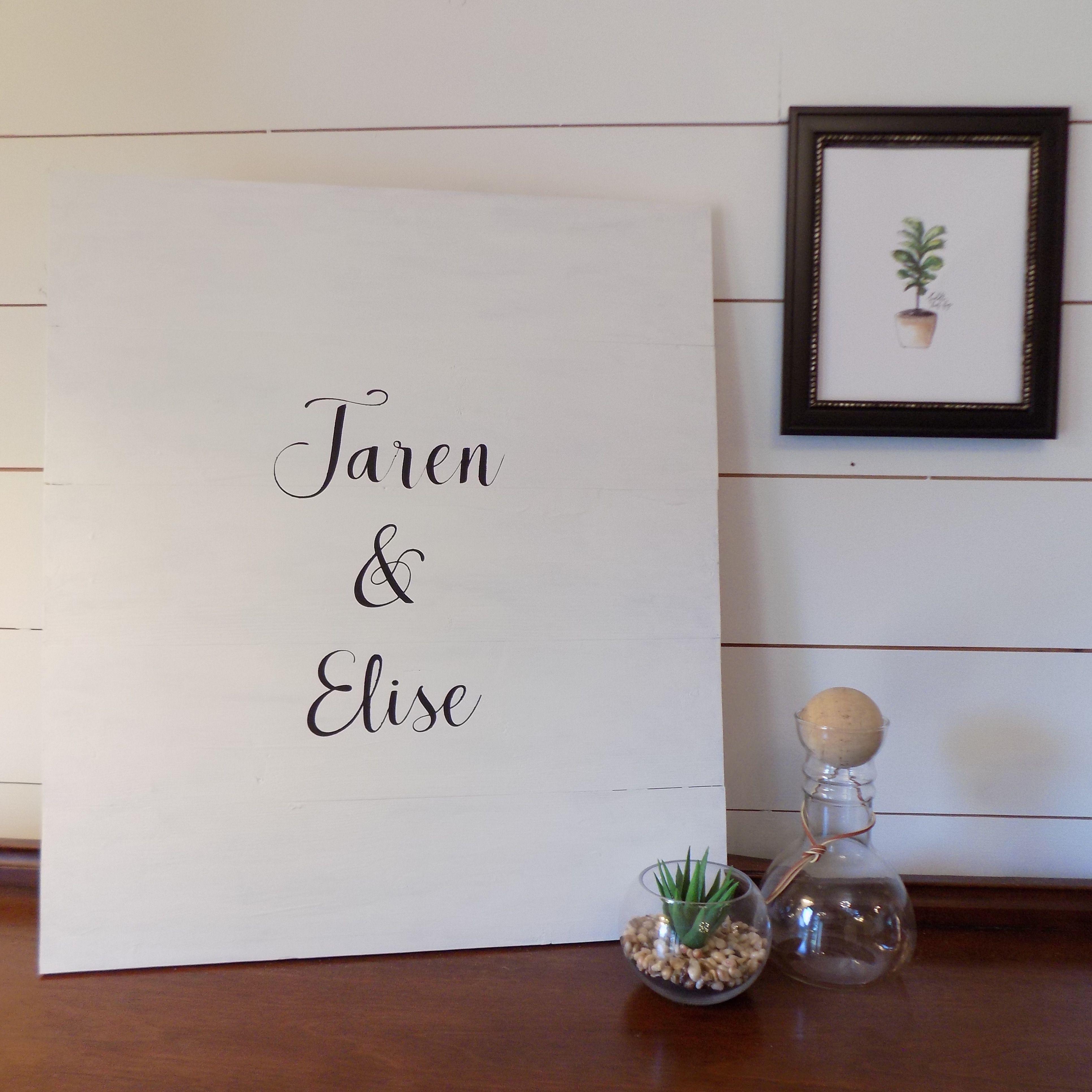 Wedding Guest Book Alternative Wedding Guest Signature Board