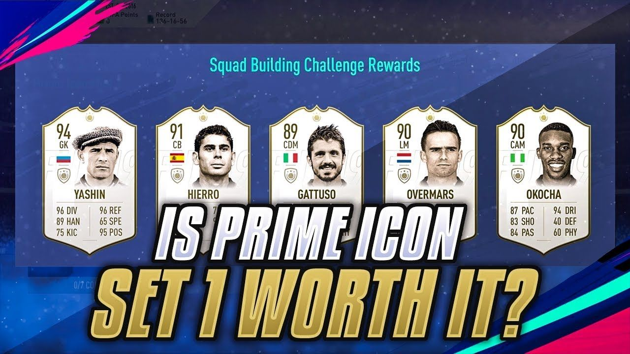 IS THE PRIME ICON SBC WORTH IT? SET 1 Icon, Video team