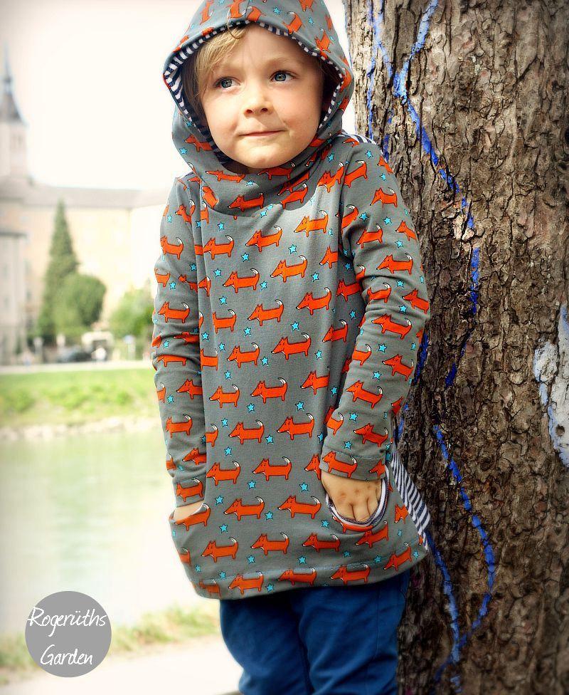 Liv by @hedinäht :-) Herbst, Kapuzenshirt out now! | Rogerüths Garden
