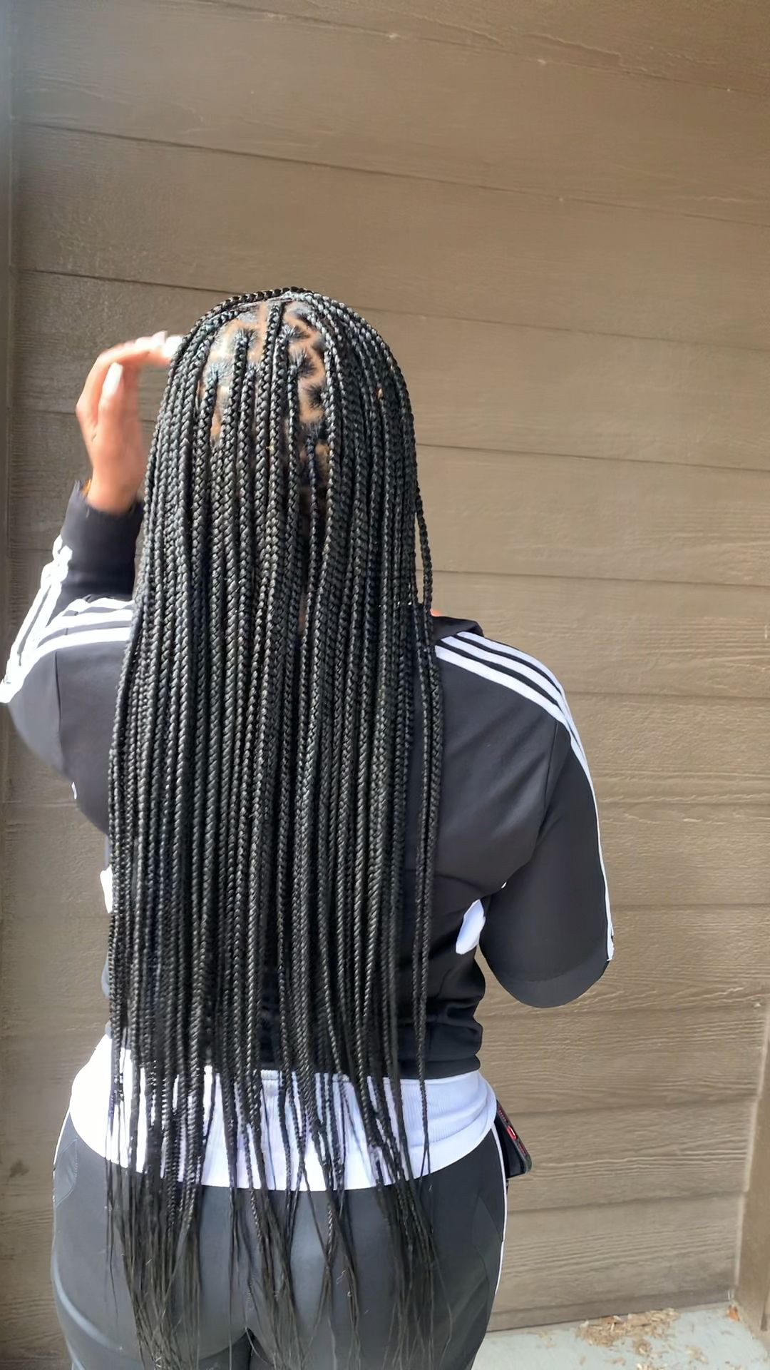 Small Knotless Braids
