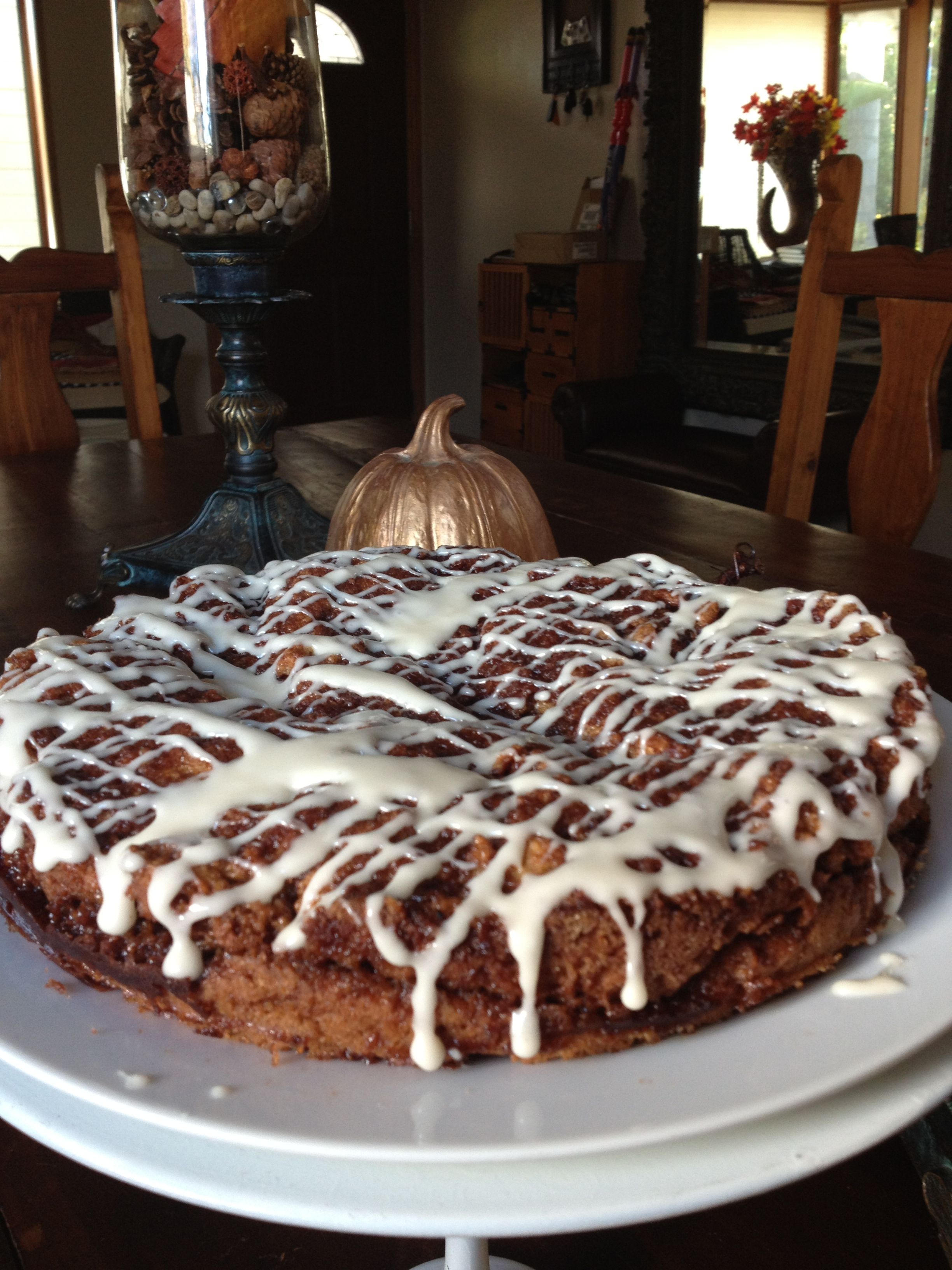 I Made It Candace Creations Gluten Free Coffee Cake With Maple