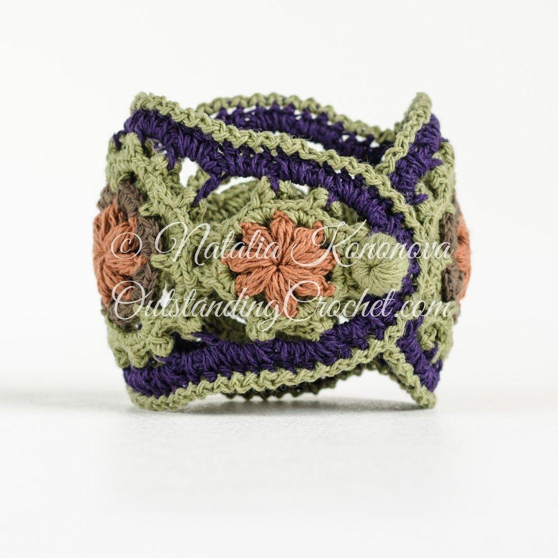 Outstanding Crochet:   Accesorios   Pinterest   Lluvia, Bisutería y ...