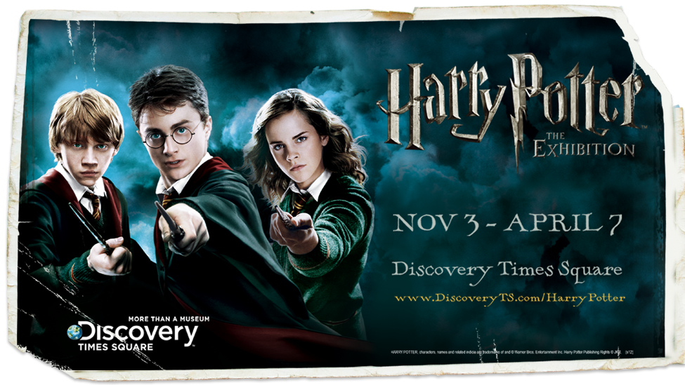 Harry Poter The Exhibition Discovery Times Square Warner Bros Movies Harry Potter Nyc With Kids
