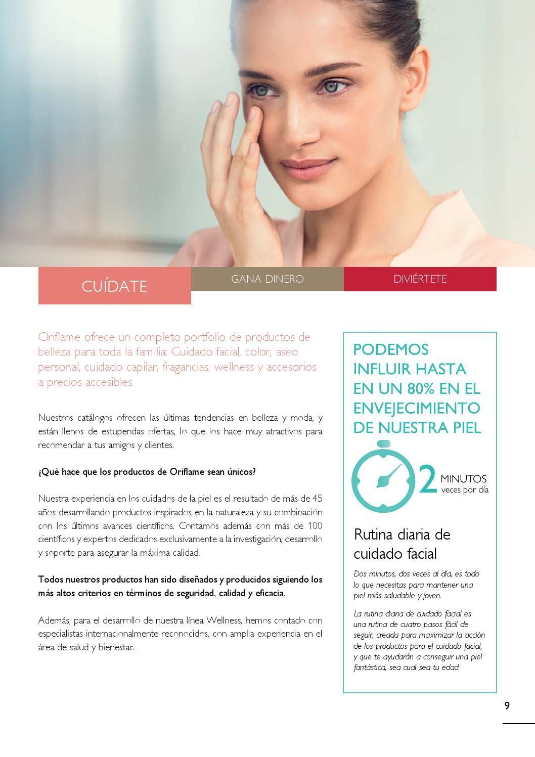 Plan2015 Web Productos Oriflame Cuidado Facial Oriflame Cosmeticos