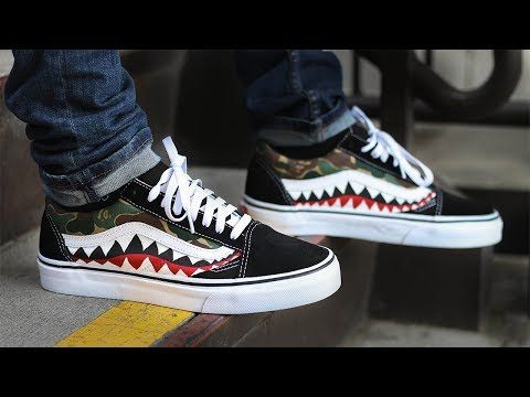 dac3fc81d10 CUSTOM SUPREME VANS! Did You WIn The Give Away  - YouTube
