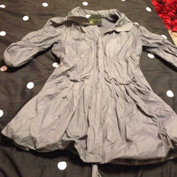 Gray boutique jacket Very thin jacket Twelve by twelve  Tops