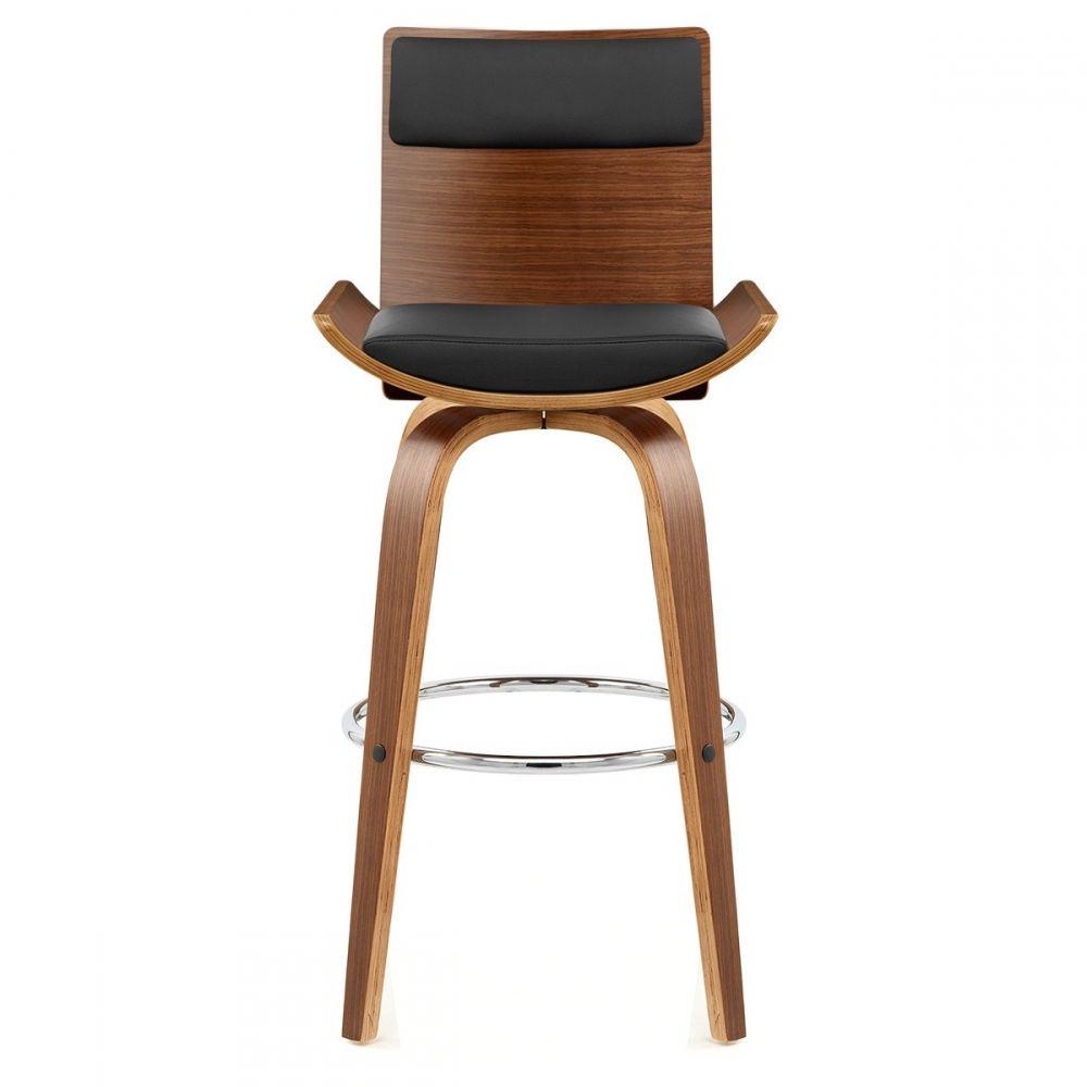 tabouret bois simili cuir  harper  bar stools bar