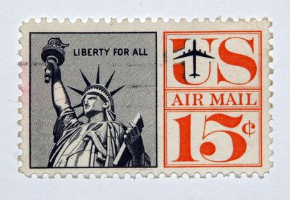 Air Mail Postage Stamps