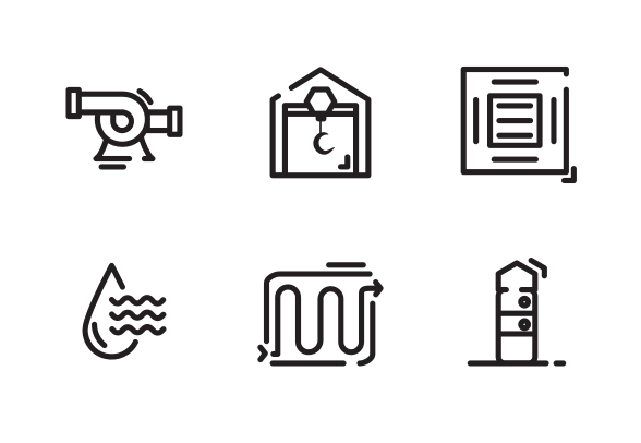 Process Flow Diagram ( Dhased Line ) icons by Nugras