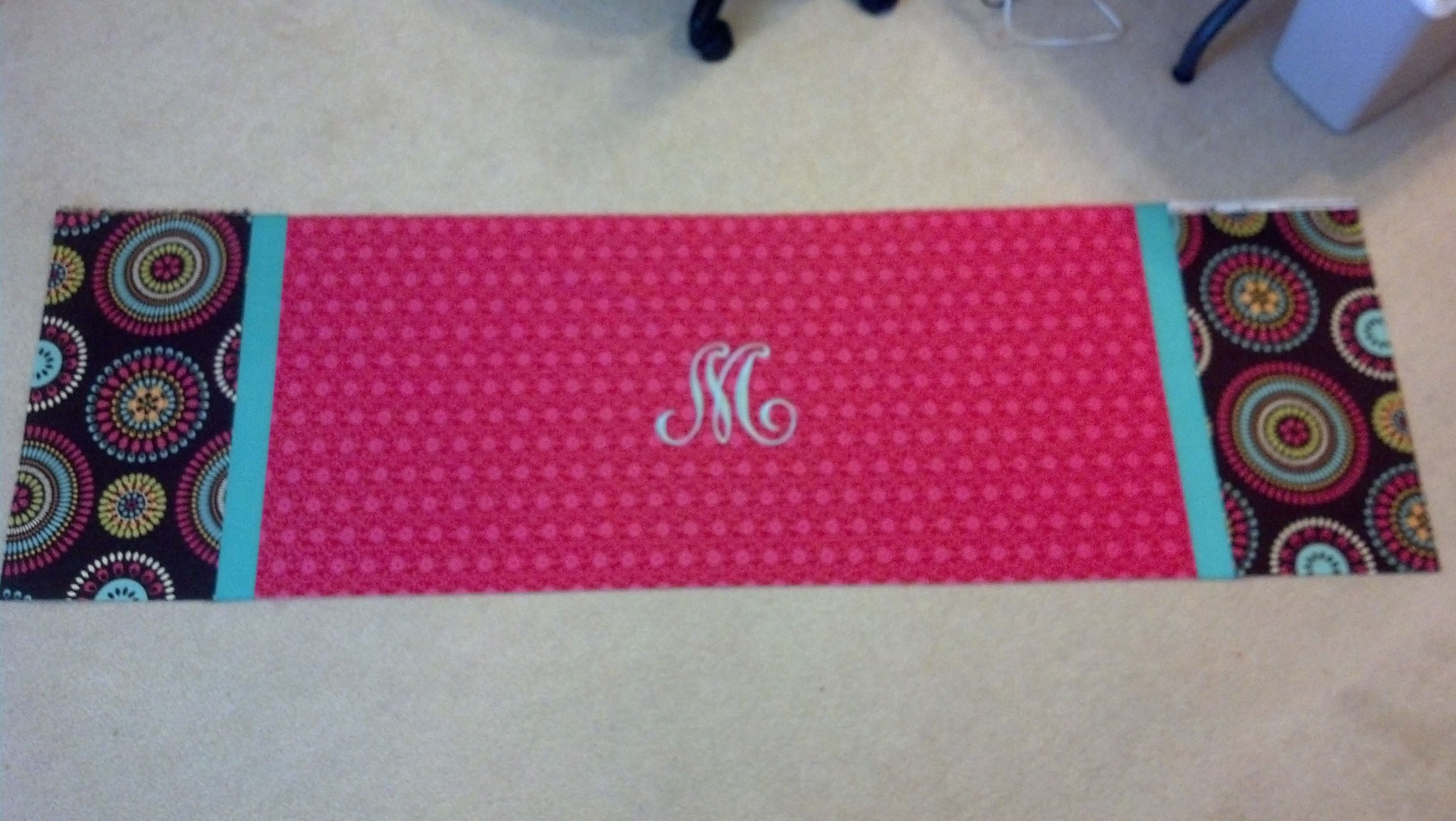 Valance made for Daughter-in-law Erin.