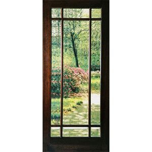 Exterior doors with glass exterior wood double doors for Exterior back doors with glass