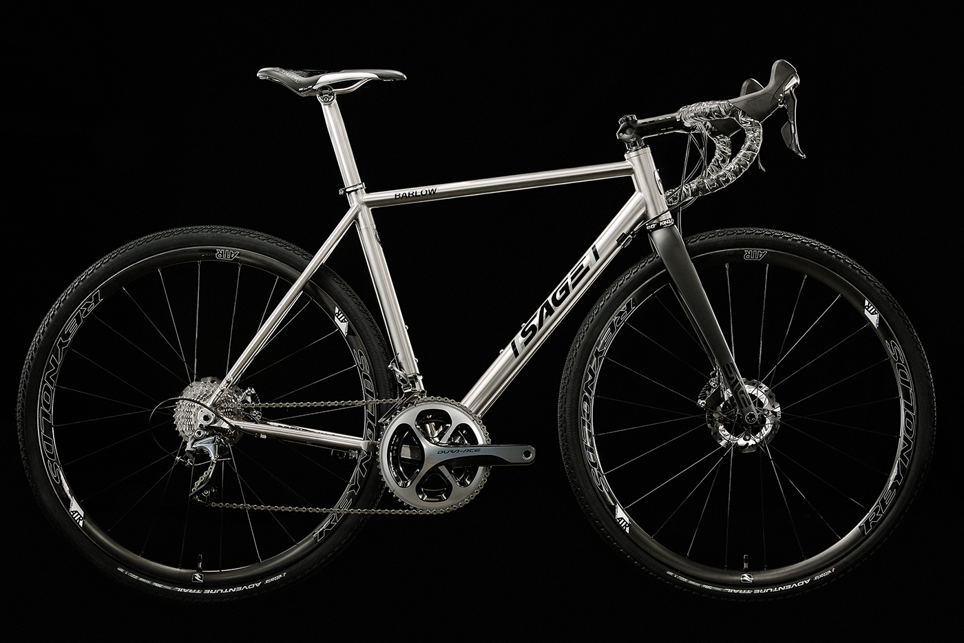 The handcrafted Sage PDXCX Titanium Cyclocross Bike is the ultimate ...