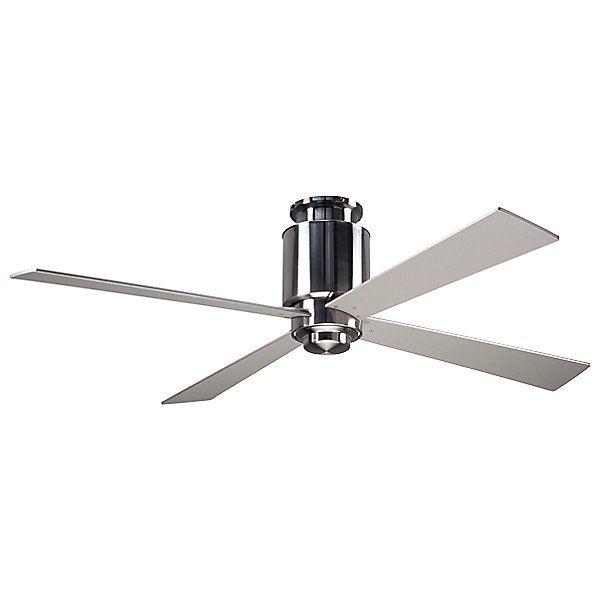 Modern Fan Company Lapa Flushmount Light Ceiling Fan Lap Fm Bn