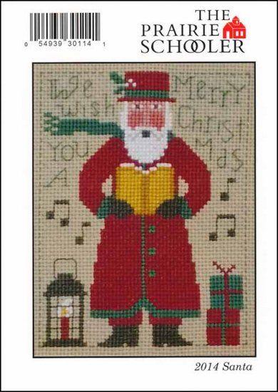 Annual Santa Claus The Prairie Schooler Counted Cross Stitch Original Choose New