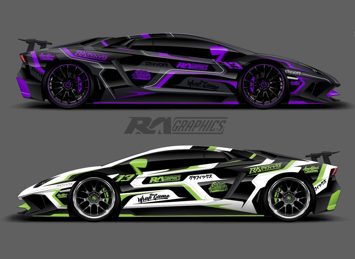 Ra Wrap Designs Lamborghini Wrap Design For Sale Please Email Us