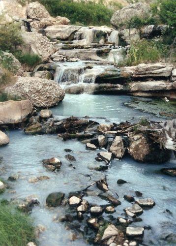 Fifth Water Hot Springs In Diamond Fork Canyon Hot Springs Utah