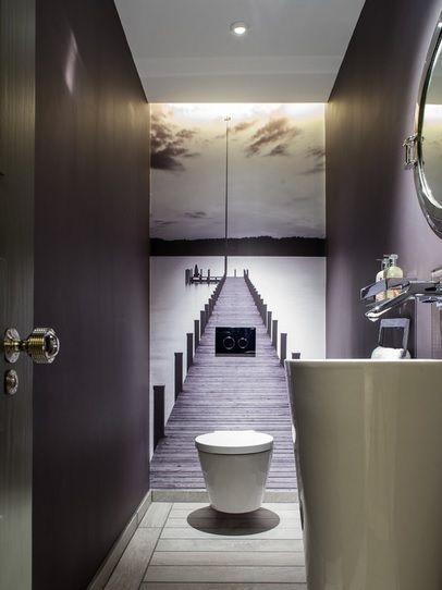 Fototapete - die spezielle Art Wandtapete Bad Pinterest - fototapete für badezimmer
