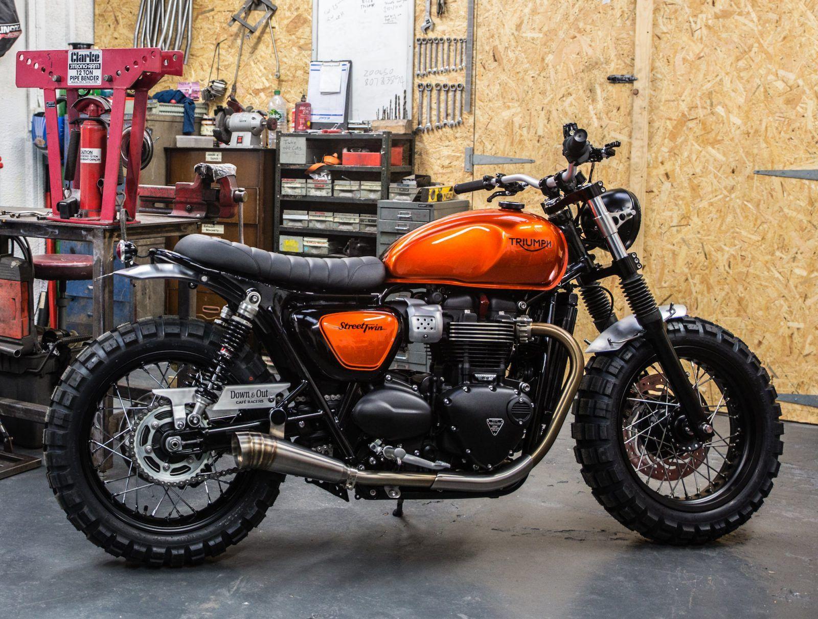triumph street twin custom motorcycles motorrad coole. Black Bedroom Furniture Sets. Home Design Ideas