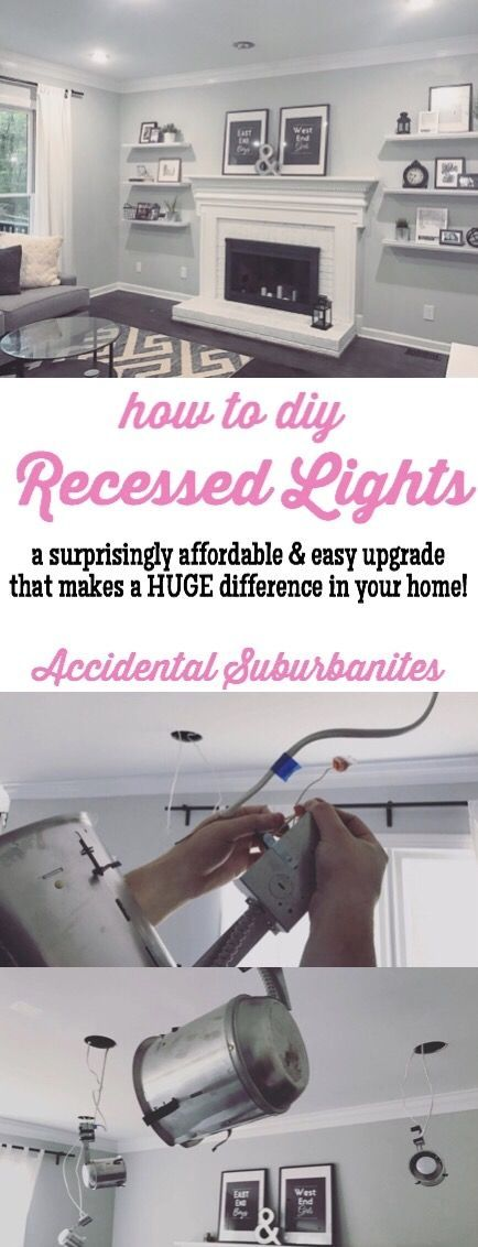 Recessed lighting in our living room ideas how to install recessed lights diy can lights
