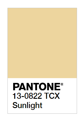 New York Fashion Week Spring / Summer 2020 Pantone Colors-Pantone Colours Sunlight