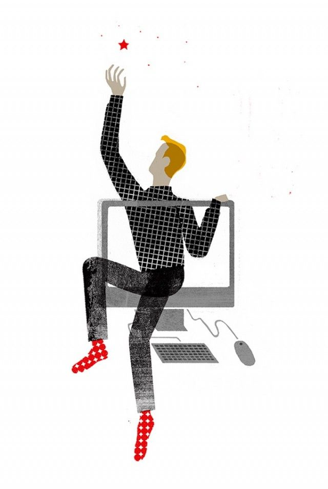 Mitch Blunt Editorial Illustrations