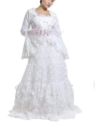 Gothic Brautkleid in weiß | White Gothic | Pinterest | Gothic