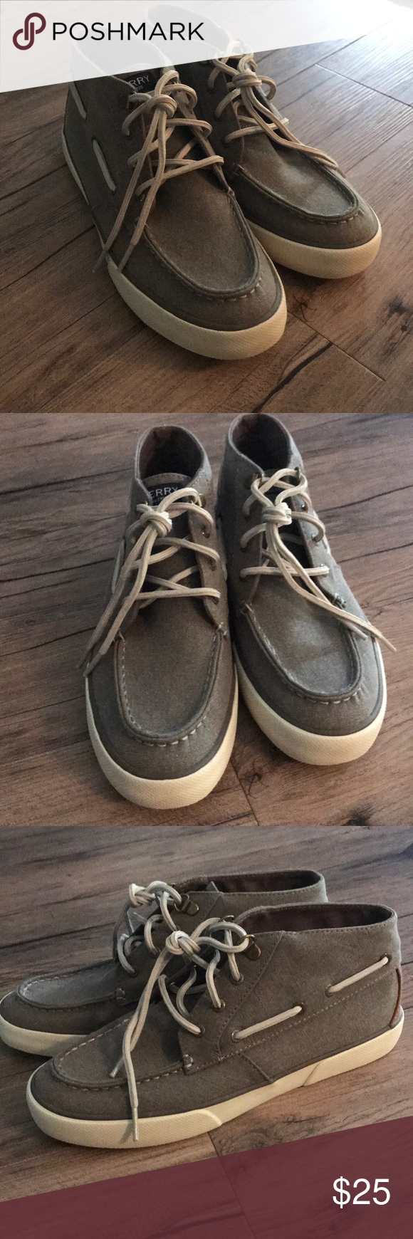 NWOT Sperry Hightops | Sperrys, Sperry shoes, High tops