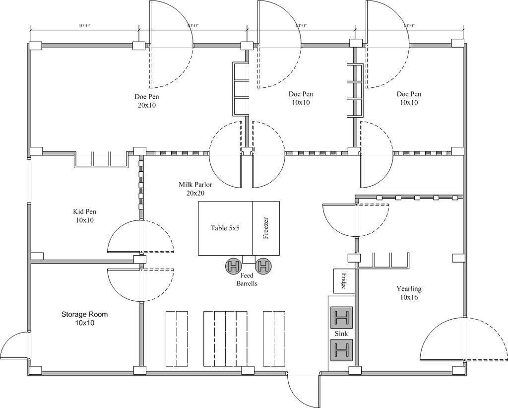 Barn And Pasture Plans