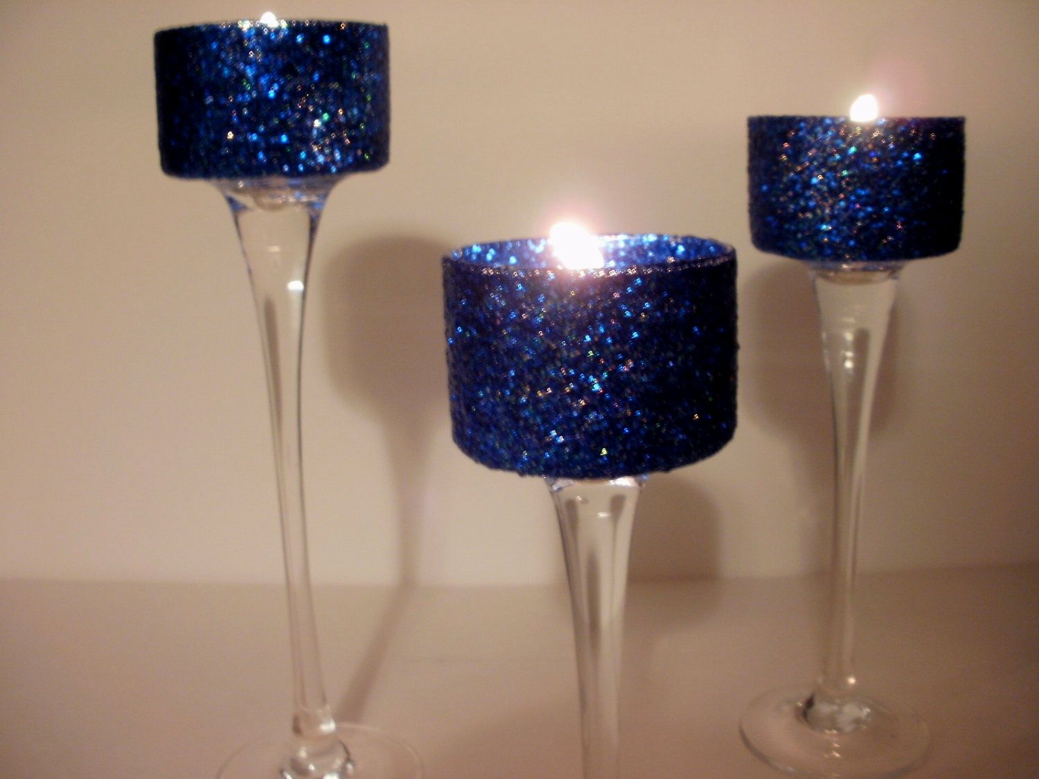 Wedding Centerpieces Navy Blue Simple Elegance Gel 3 Piece By Silk N Lights These Would Be Perfect For Your