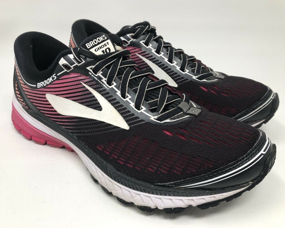 Brooks Ghost 10 Womens Size 8 Pink