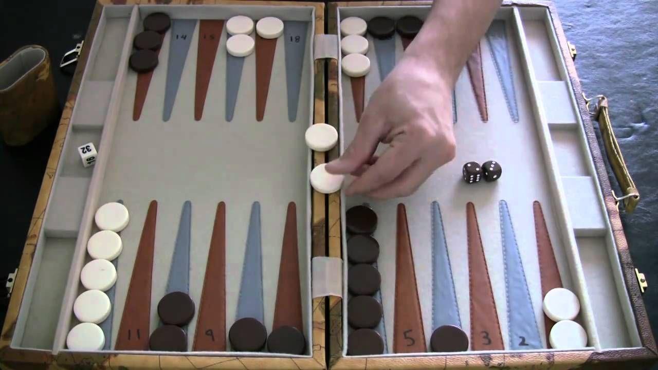 Beginner Backgammon Tutorial 3 Hitting and ReEntering