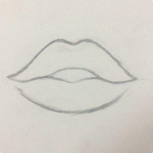 Pin About Levre Dessin Dessin Au Crayon Et Dessins Faciles On Drawings