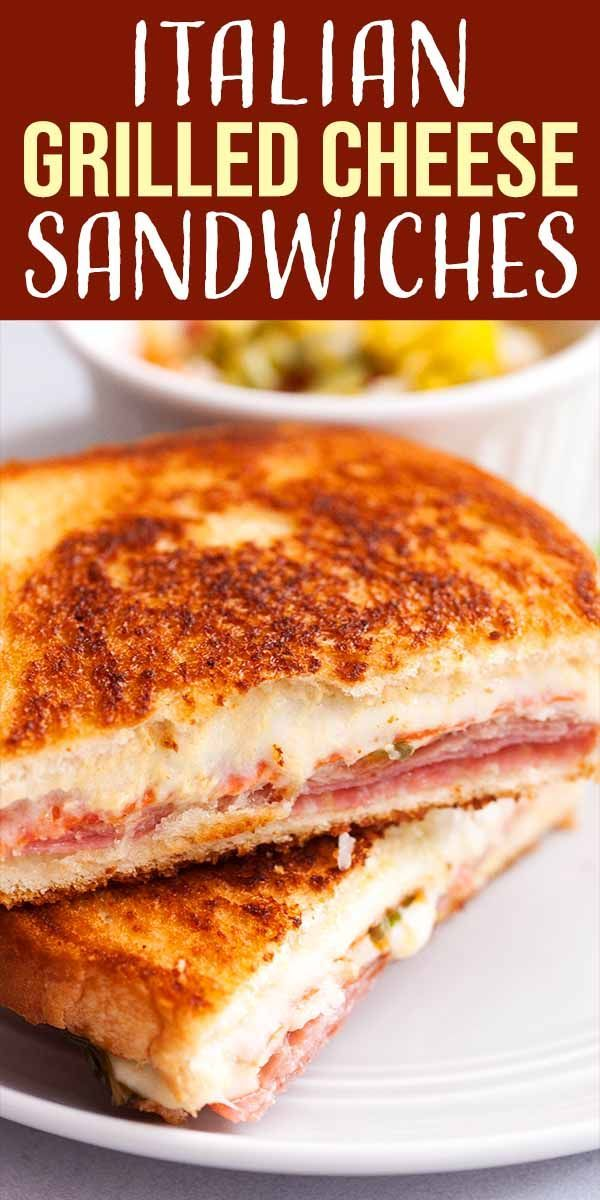 Italian Grilled Cheese Sandwiches Recipe | SimplyRecipes.com