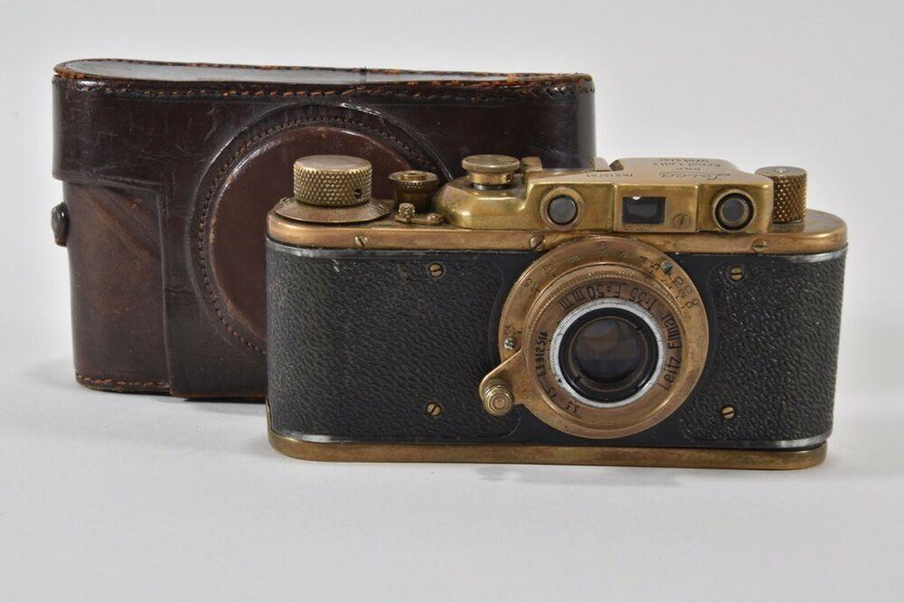 Ebay Sponsored E55h72 Alte Leica Leitz Elmar Fotokamera Nr