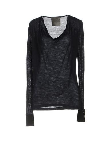 ES'GIVIEN Women's Sweater Dark blue L INT