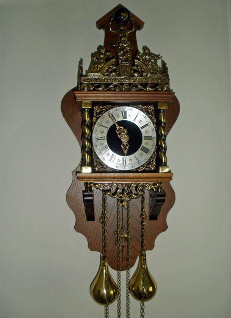 Our Dutch Atlas Zaanse Wall Clock In Oak Wall Clock