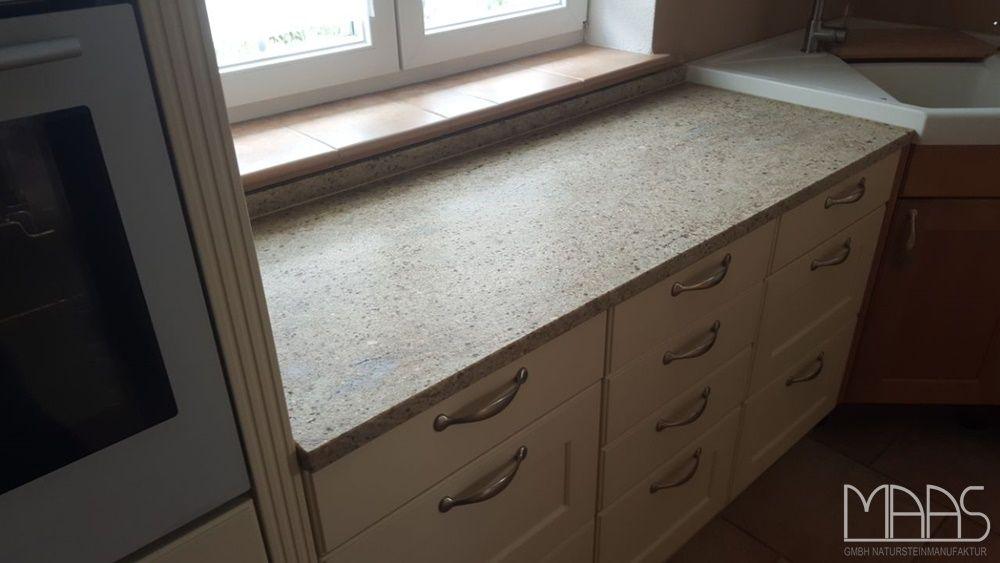 Kashmir Gold Chiaro Granit Arbeitsplatten http\/\/wwwgranit - küchenarbeitsplatten online bestellen