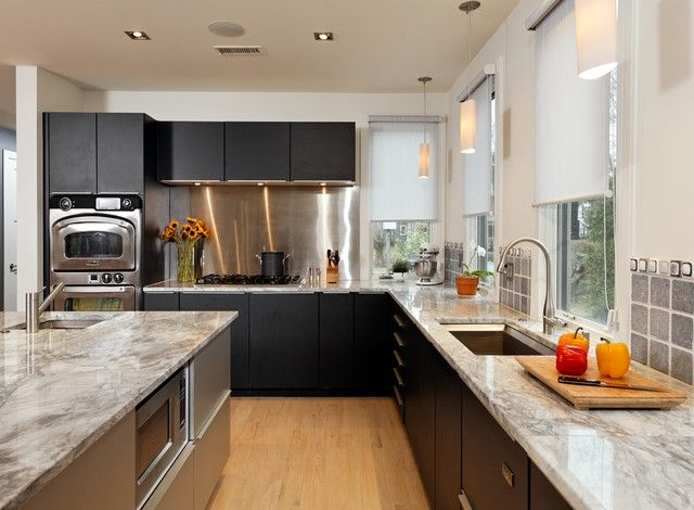 if you favor a black and white kitchen i recommend adding