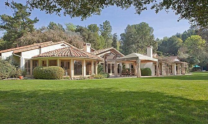 California Ranch Home Photos Single Story Luxury Homes ...