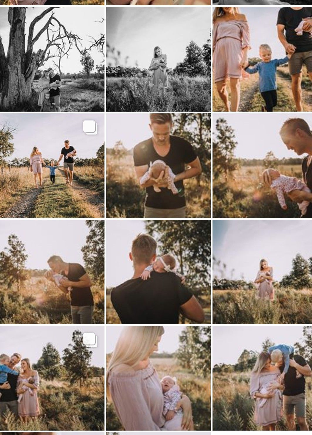 Outdoor Newborn Photography Family + Outdoor Newborn Photography Family